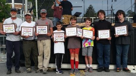 Squirrel Box Derby 2016 at White Squirrel Festival, Heart of Brevard - Transylvania County Schools