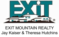 EXIT MOUNTAIN REALTY Jay Kaiser Theresa Hutchins 2018 Derby Sponsor